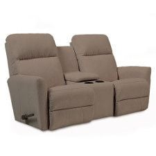 Odon Reclina-Way® Full Reclining Loveseat w/ Console