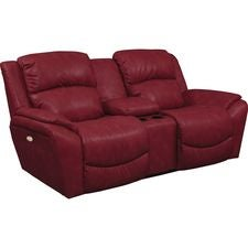Barrett PowerRecline La-Z-Time® Full Reclining Loveseat w/ Console