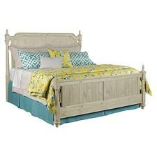 Weatherford Cornsilk Westland King Bed - Complete