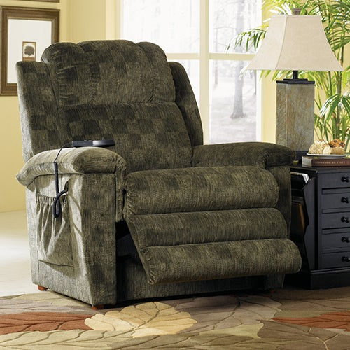 Clayton LUXURY LIFT® Power Recliner 6-Motor Massage & Heat