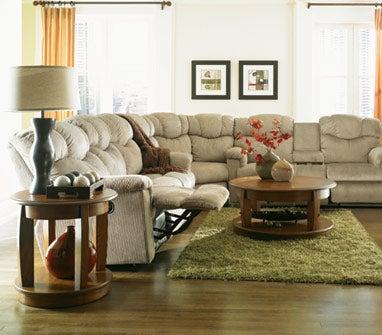 lancer la z time full reclining sofa