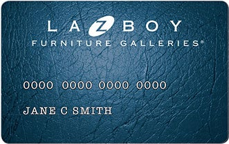 La-Z-Boy Furniture Galleries Credit Card