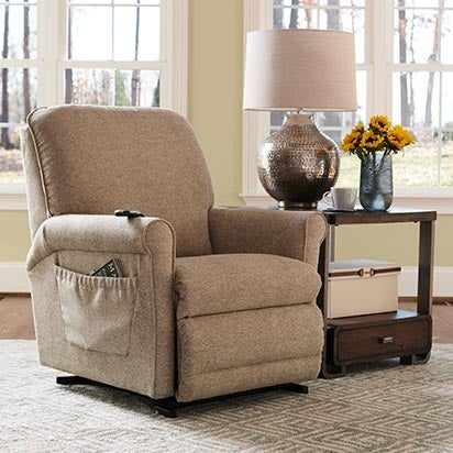 Shop lift recliners
