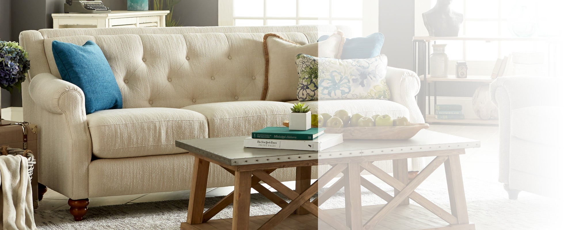 Sofa sets are the center of your living room.
