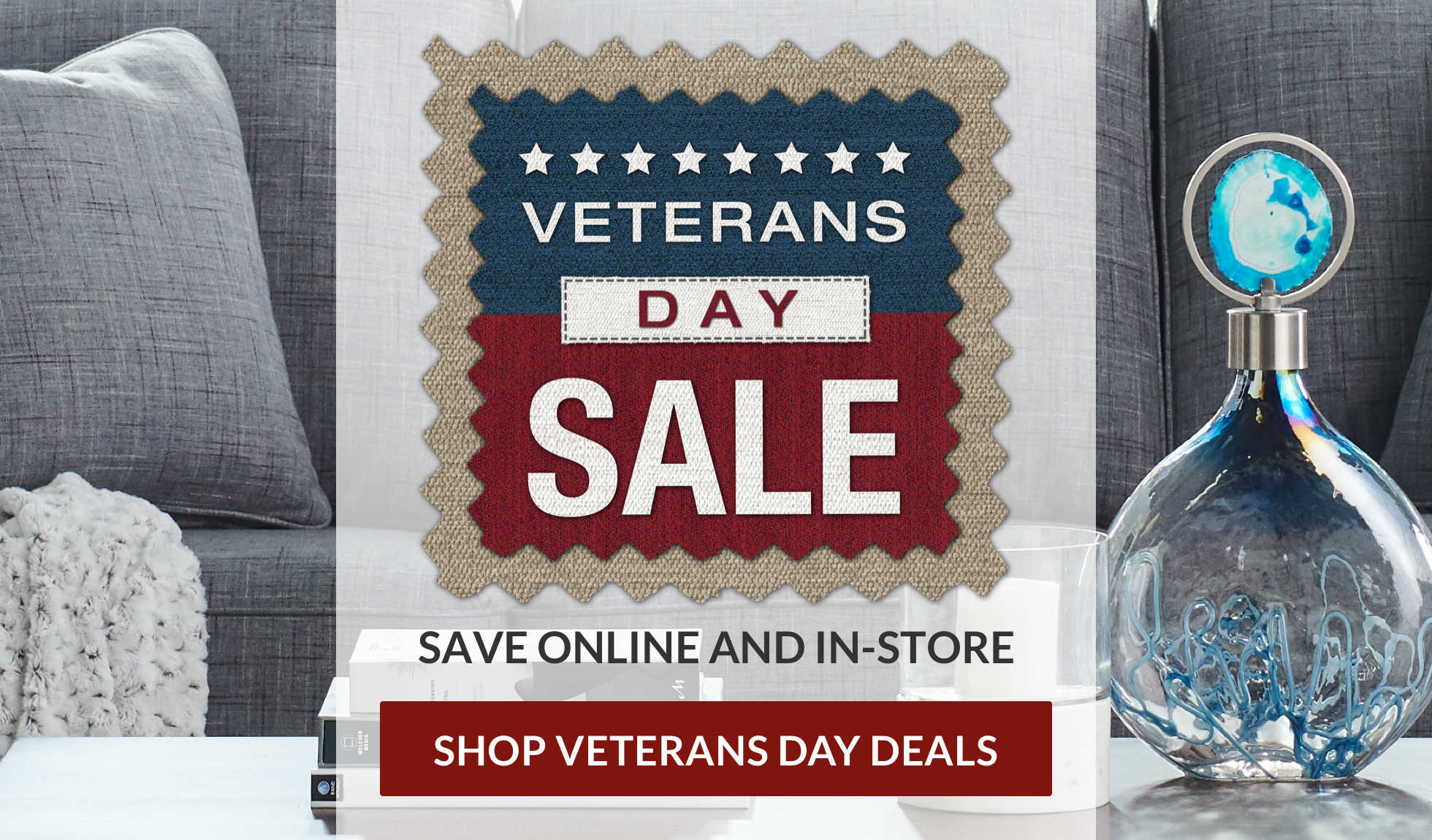 Save big in-store and online! Shop Veterans Day Deals.