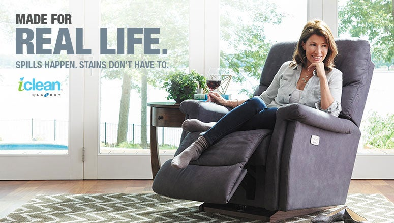 IClean Stain Resistant Upholstery Fabric