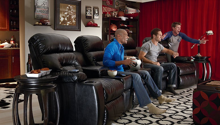 Man Cave Recliner Chairs : Man cave