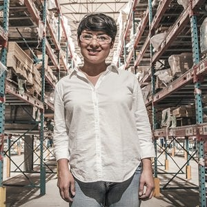 Maker in warehouse
