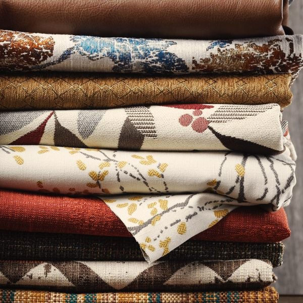Stack of fabric covers