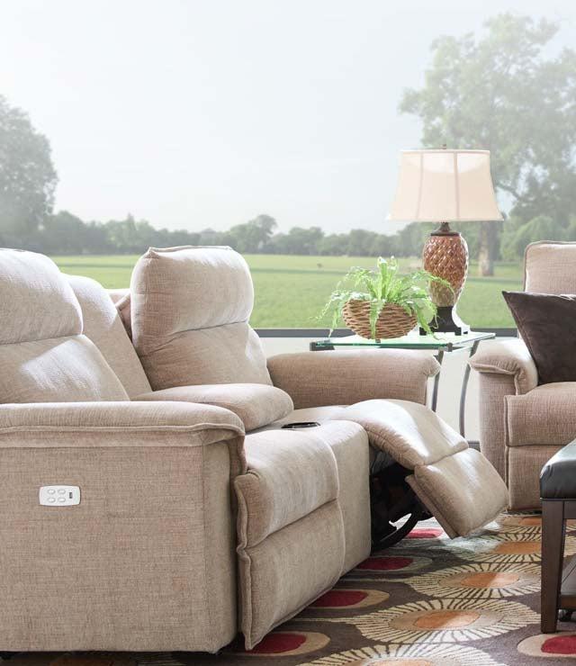 Room scene with La-Z-Boy PowerRecline furniture