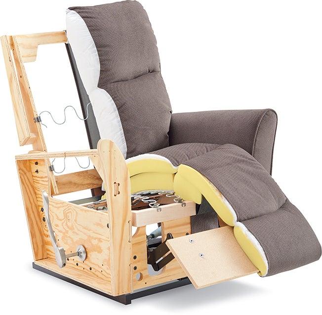 recliner cutaway