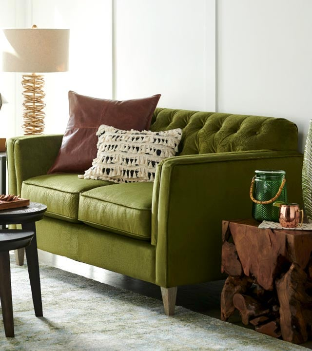 Alexandria Sofa in conserve™ Sustainable Fabrics