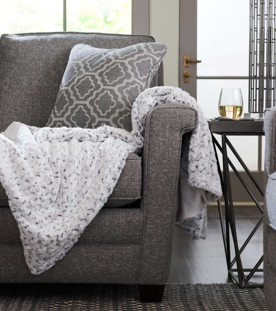Closeup of Dixie Sofa
