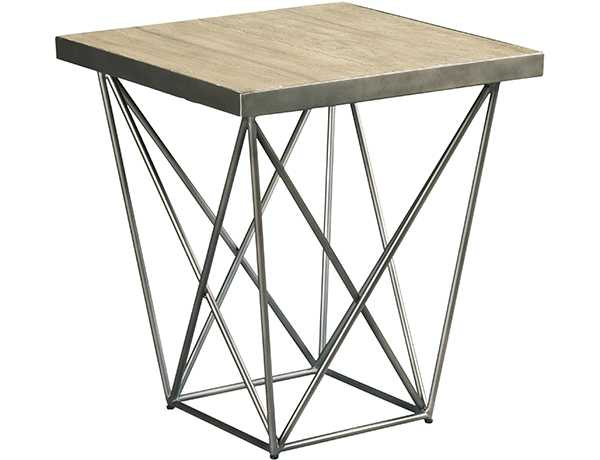 Rafters Rectangular End Table