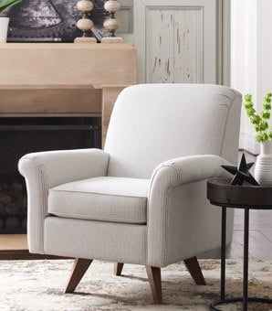 Room scene with Ronnie High Leg Swivel Chair