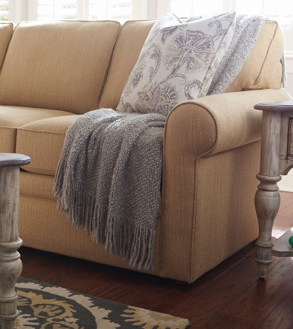 Closeup of Collins sofa