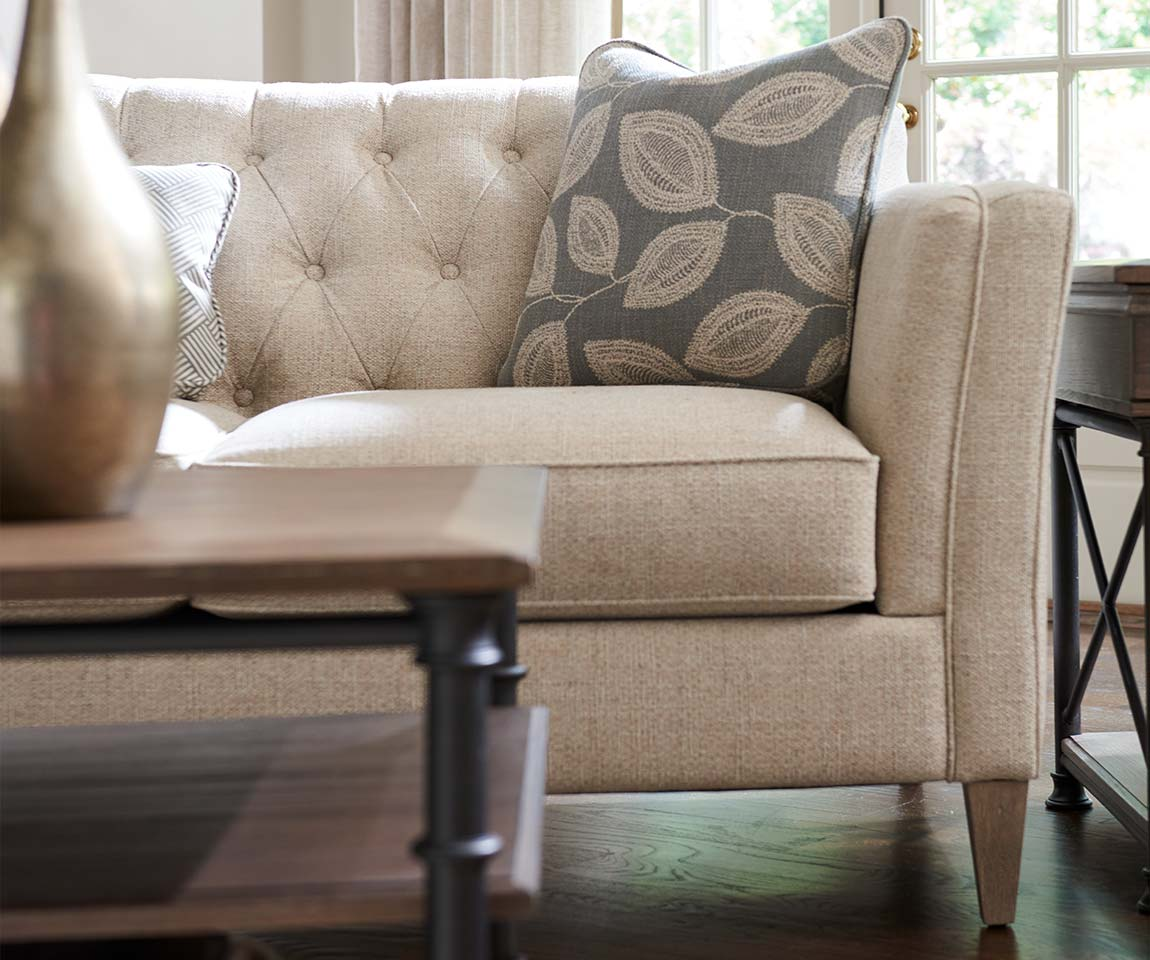 Closeup of Alexandria Sofa