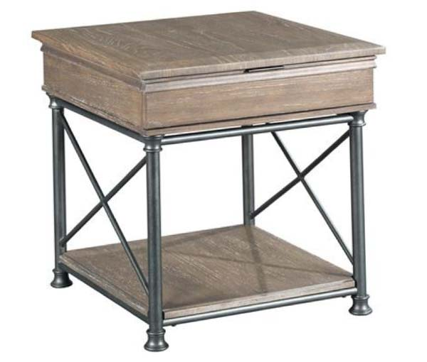 Darrington Rectangular Drawer End Table