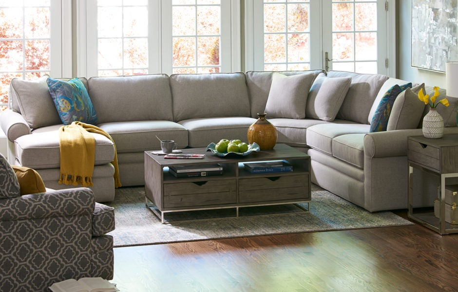 Living room with Collins Sectional