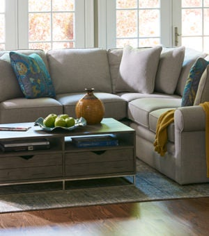 Small room scene with Collins Sectional