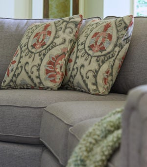 Closeup of Leighton Sectional