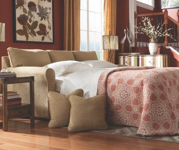 Room scene with Leah Queen Sleep Sofa