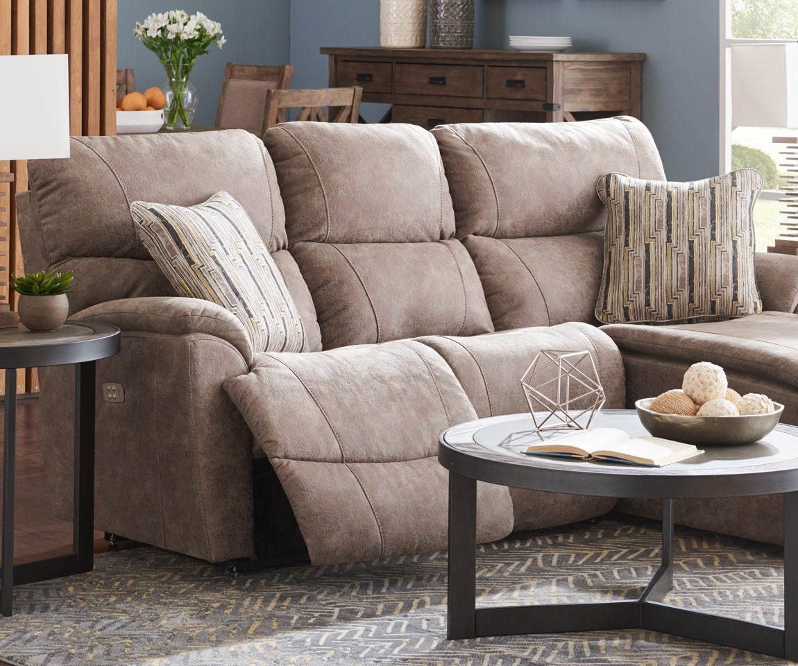 Room scene with Trouper Power Reclining Sectional