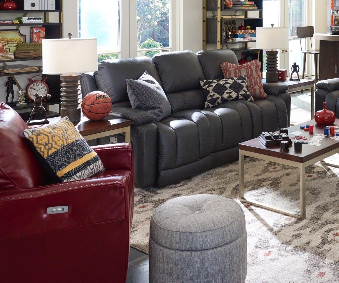 Room scene with Greyson Power Reclining Sofa
