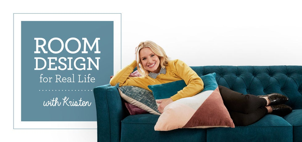 Room Design for Real Life with Kristen Bell