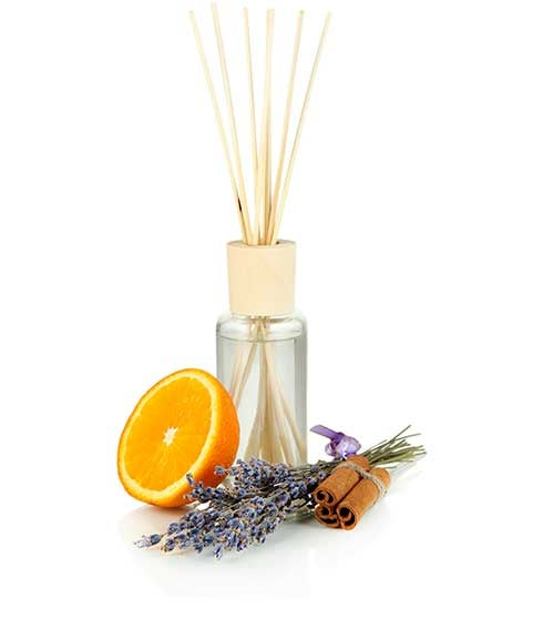 Diffuser with orange and cinnamon