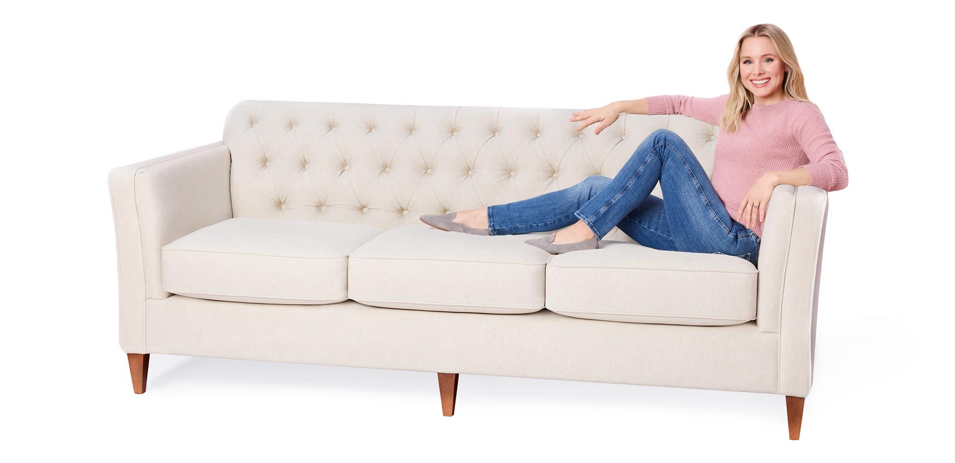 Sofas For Real Life With Kristen Bell