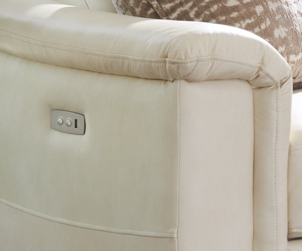 Luke duo reclining sofa detail