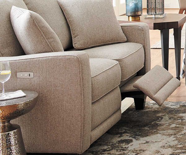 Makenna duo reclining sofa detail
