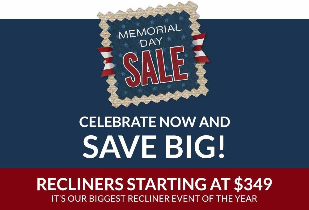 Find great deals in-store & online. Recliners starting at $349. It's our biggest recliner event of the year.