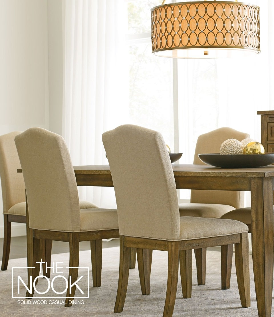 Dining room with Nook products