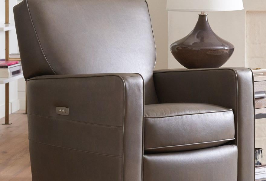 Room scene with Midtown Low Leg Power Reclining Chair
