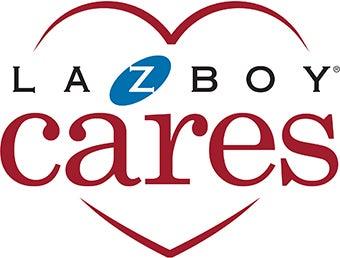 La-Z-Boy cares logo