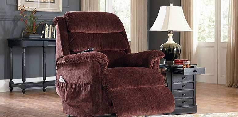 You may not be aware that something is in the way of your legrest closing, but your legrest knows and will stop itself from automatically closing. The legrest safety feature is just one of the PowerLift features your La-Z-Boy recliner offers you. From Battery Back-Up that returns your chair to the upright position in a power outage to Zero Gravity that helps promote leg circulation, the features are many and quite amazing, too.