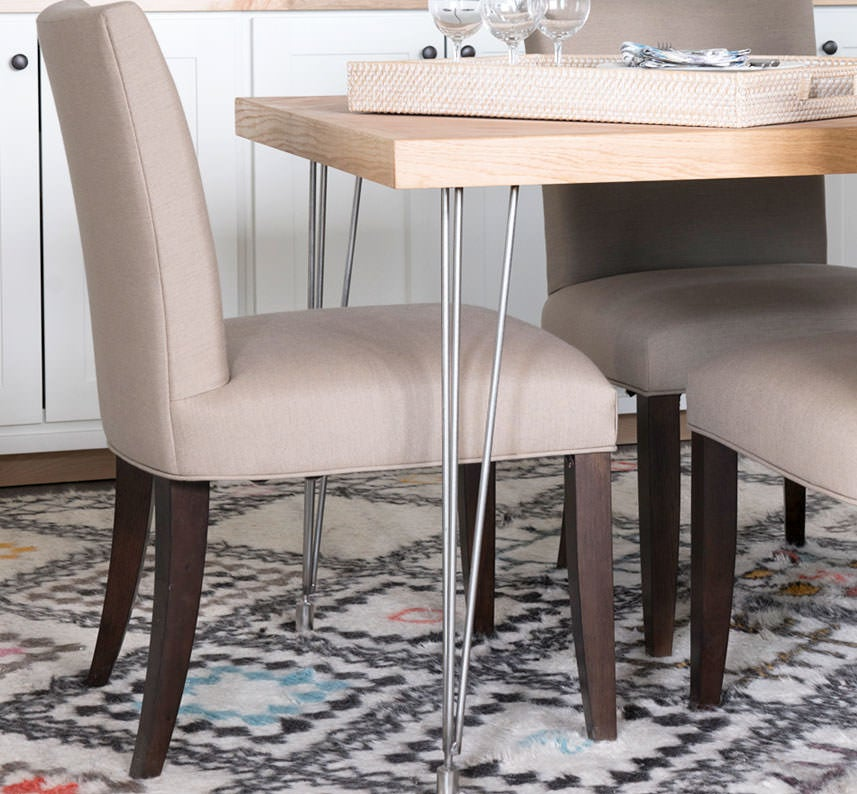 Shop our unique chairs to complete the look