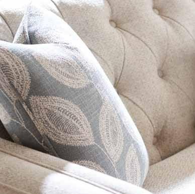Closeup of Alexandria Sofa