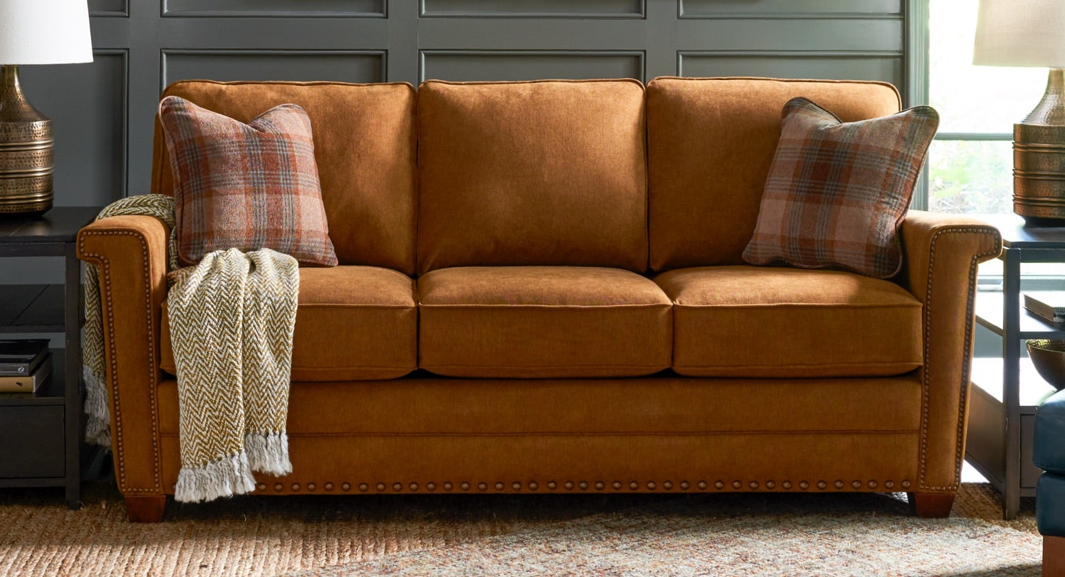 Closeup of Bexley Sofa