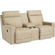 Jax La-Z-Time® Full Reclining Loveseat w/ Console
