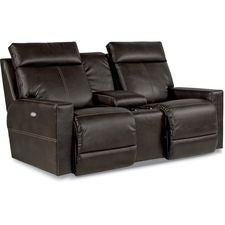 Jax PowerRecline La-Z-Time® Full Reclining Loveseat w/ Console