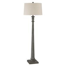 Grey Trace Floor Lamp