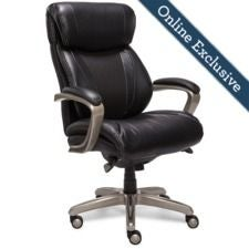 Salerno Executive Office Chair, Black