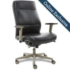 Baylor Executive Office Chair, Negro