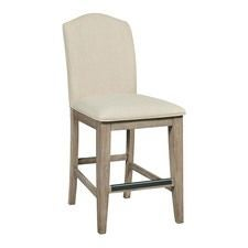 The Nook Heathered Oak Counter Height Parsons Chair