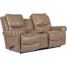 Duncan Reclina-Way® Full Reclining Loveseat w/ Console