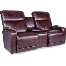 Levi PowerReclineXRw+™ Full Reclining Loveseat w/ Console