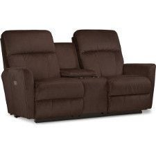 Odon PowerReclineXRw™ Full Reclining Loveseat w/ Console